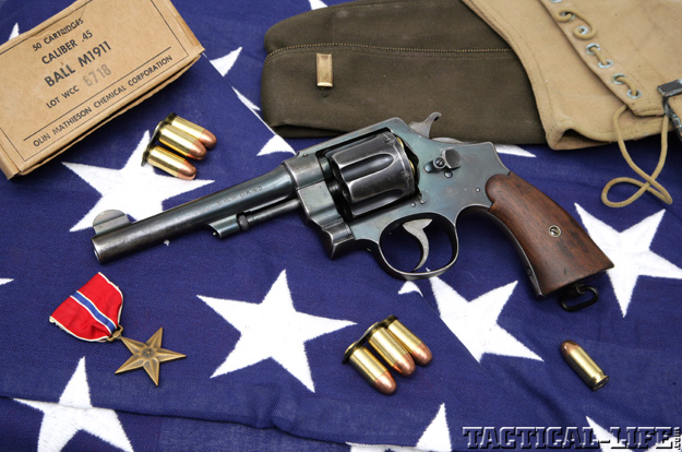 Smith & Wesson's Hand Ejector M1917 | S&W 45 ACP Revolver Review