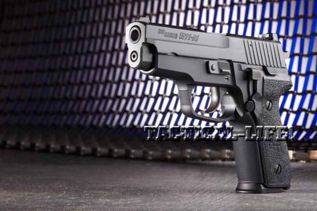 Combat Handguns Sig-Sauer-M11-A1