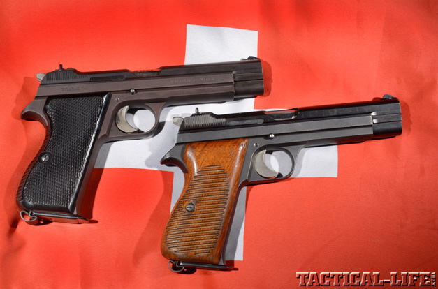 Sig Sauer P210 and the Swiss Army P49