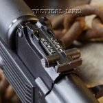 Soviet Weapons Arsenal SLR-101S rear sight