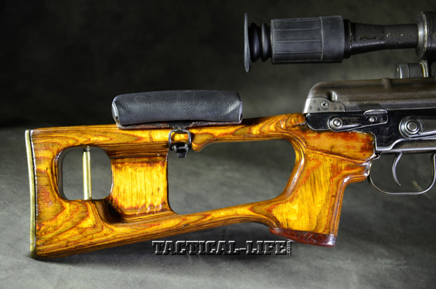 Soviet Weapons Dragunov Sniper Rifle stock
