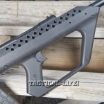 Soviet Weapons Kushnapup Saiga-12 Gauge Front of stock