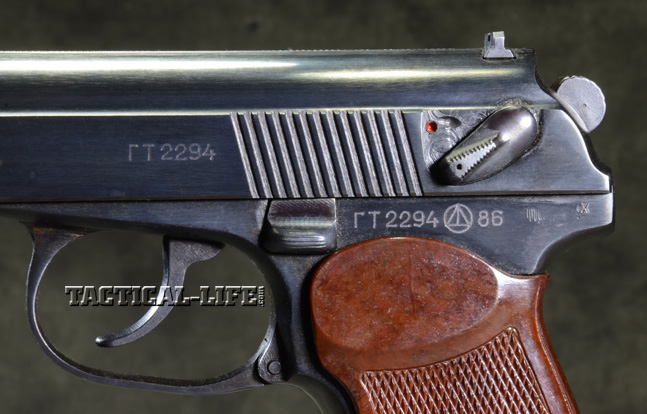 Soviet Weapons Makarov Left side