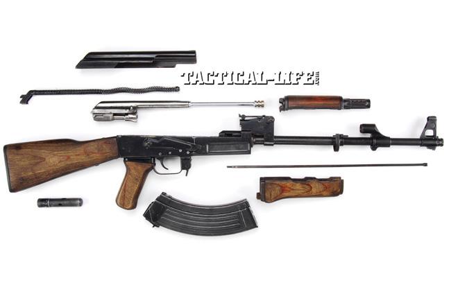Soviet Weapons Tet Offensive Nva Izmash Disassembly