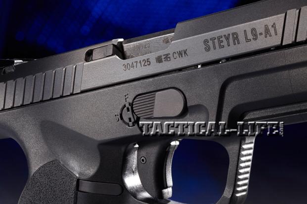 Combat Handguns Steyr-L9-A1-slide-trigger