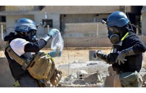OPCW Pleads for Syrian Ceasefire