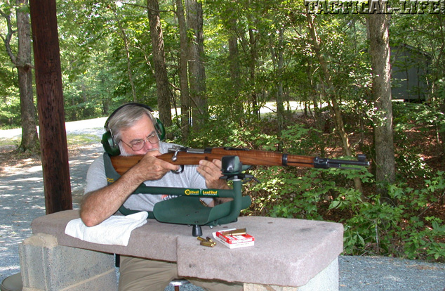Test Fire Yugo M48A Mauser