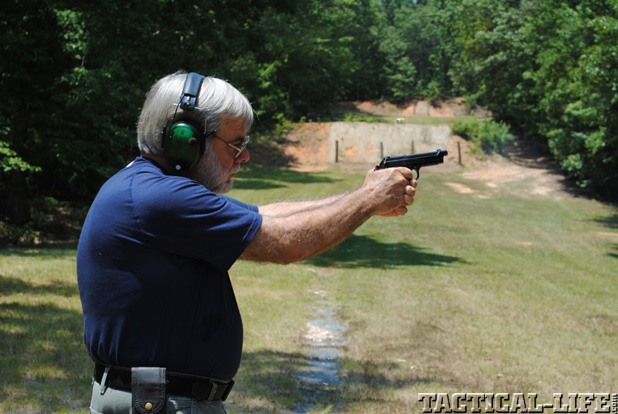 Test Firing Beretta M1951