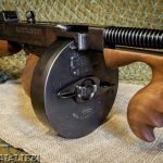 Thompson SMG Submachine Gun Drum Magazine