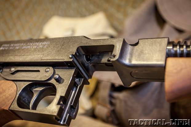 Thompson SMG Submachine Gun Milling Cuts