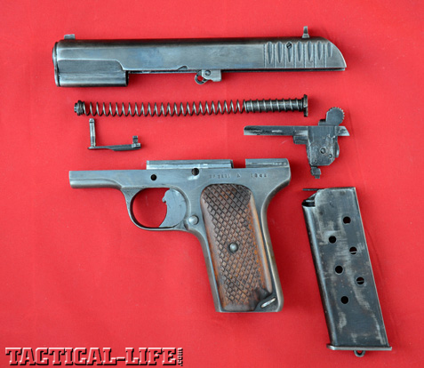 Tokarev TT33 Disassembled