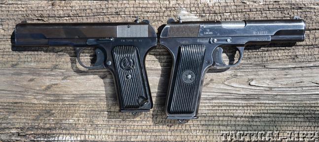 Tokarev TT33 Variations
