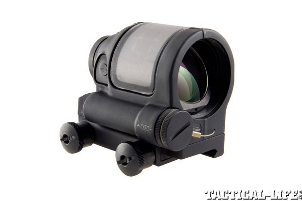 LaRue Tactical PredatAR OBR Trijicon SRS Reflex Sight