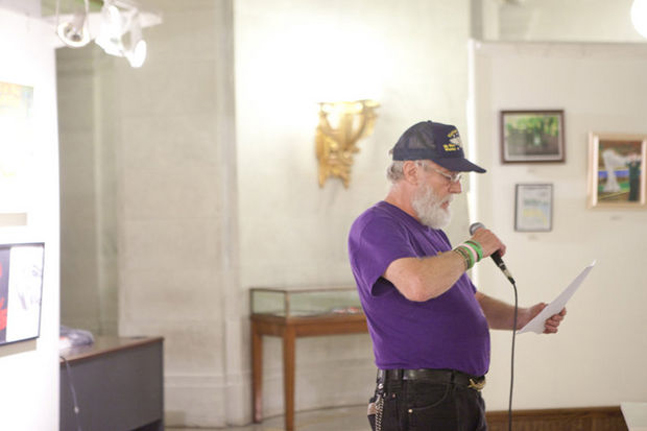 NJ Veterans Express Anguish Through Art