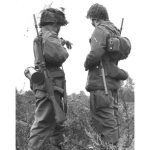 West German troops patrol the Iron Curtain with the FN FAL.