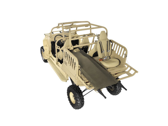 Polaris ATV for evac
