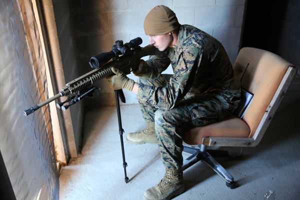 Marine Corps Police Academy Special Reaction Team (SRT) Training