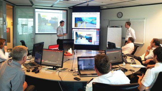 RescueSim Virtual Training Tools - Training room