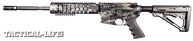 NASGW - Anderson M4/16 Tiger - Left Side