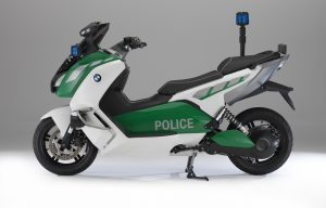 BMW Police-Spec C Scooter