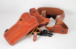 Diamond D Custom Leather Chest Holster