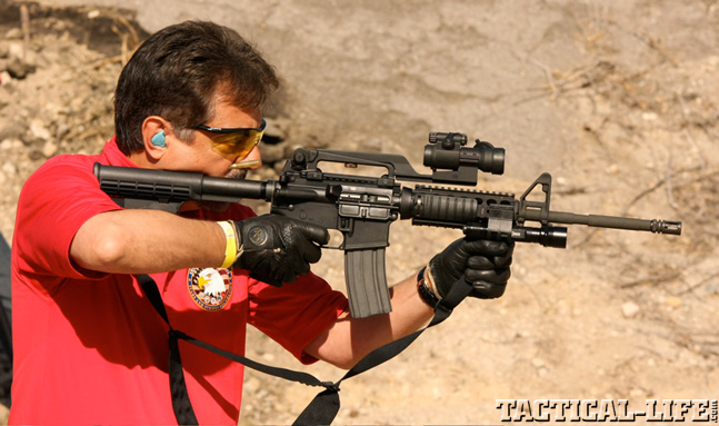 Joe Montegna M4 Rifle