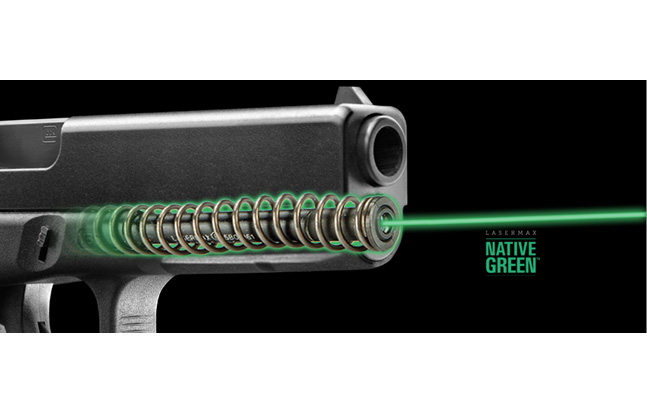 LaserMax Green Guide Rod Laser