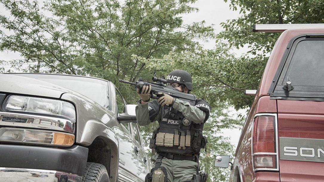 Law Enforcement Tactics - Bullpup CQB Gunfighting for LE