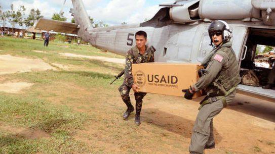 Massive U.S. Military Response to Philippine Typhoon