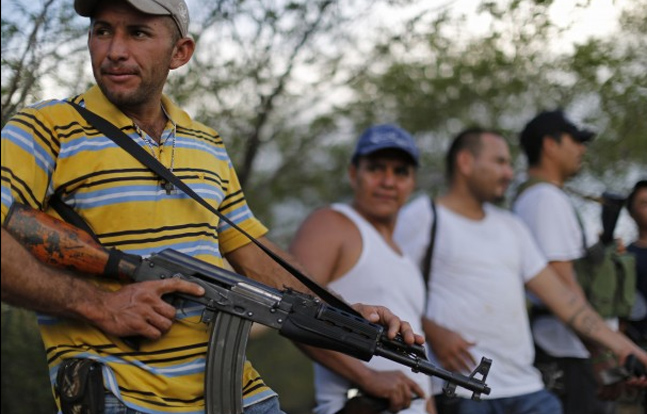 Mexican Vigilante Groups Yield to Gov't Forces in Fight Against Cartels