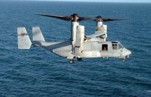 Military Exploring Osprey-Type Tilt-Rotor Aircraft