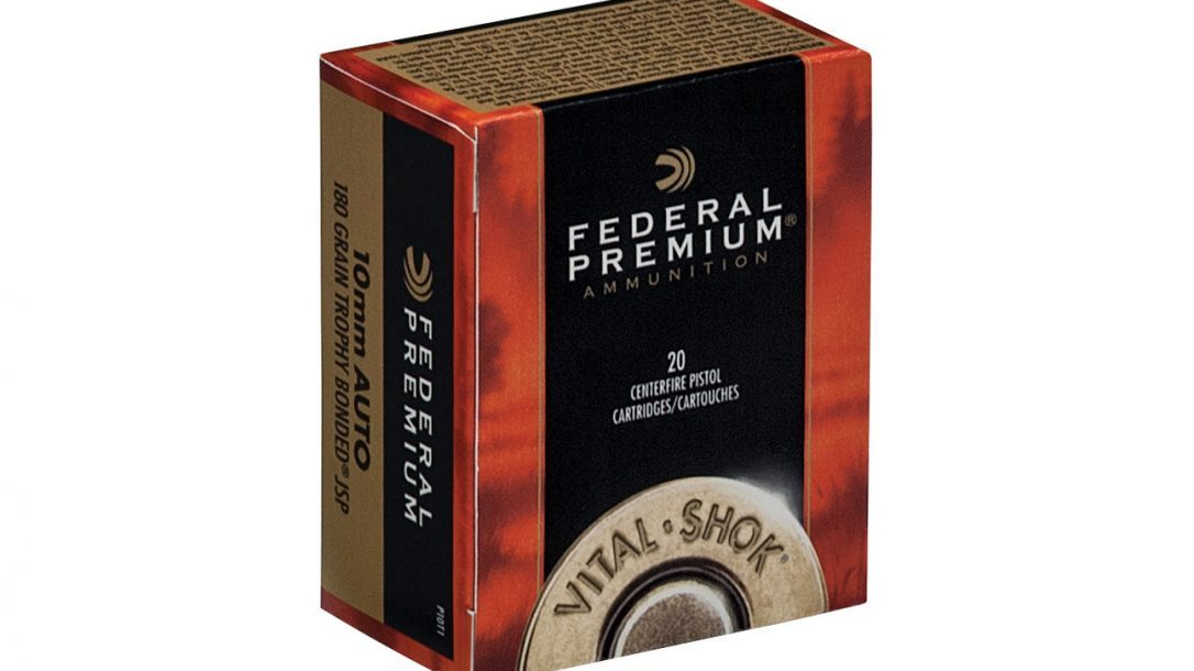 NASGW - New Ammunition - Federal Premium 10mm