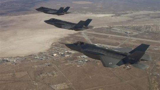 Navy Committed to F-35, Exploring F/A-18