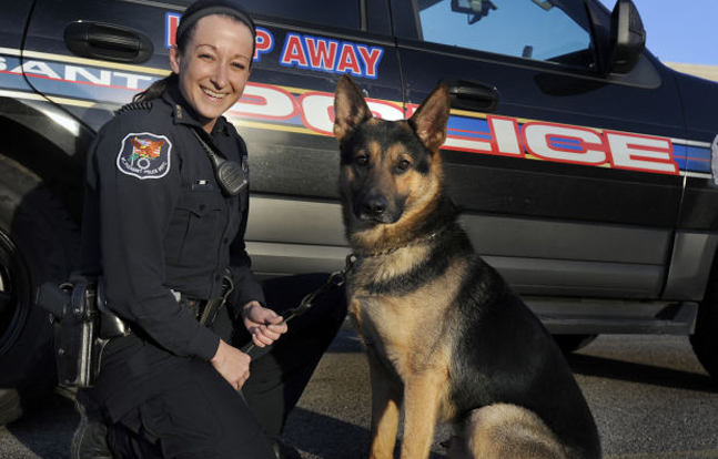 New K-9 Officers in Wisconsin