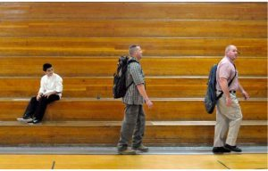 Off-Duty Guardian Angels Watch Over Colorado Schools