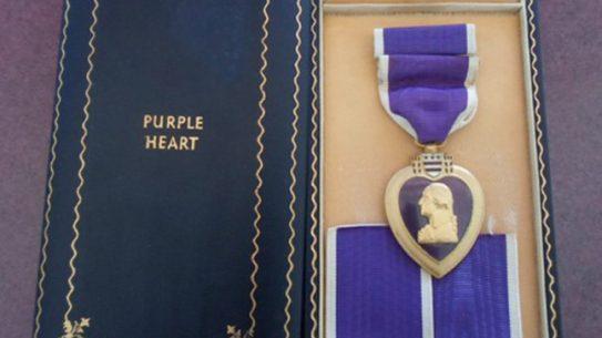 Purple Heart at Flea Market Returned to Fallen Soldier's Family