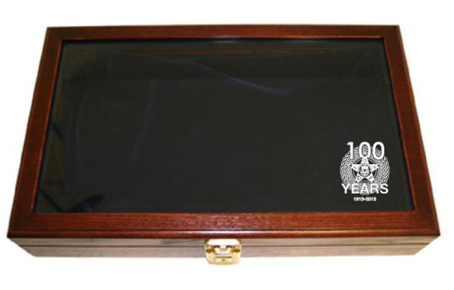 Quantico Tactical FOP Commemorative S&W Model 10 Case