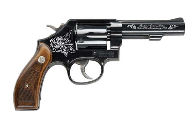 Quantico Tactical FOP Commemorative S&W Model 10