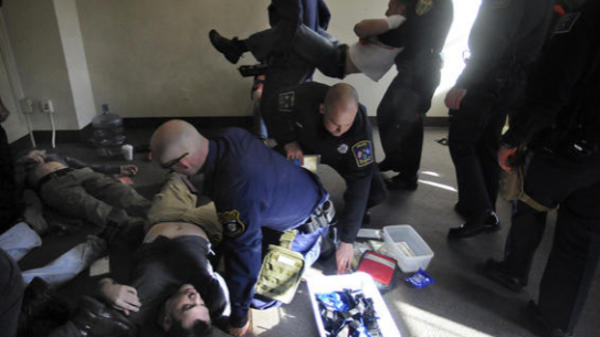 Police Combat Life Saver Course Taught in CT