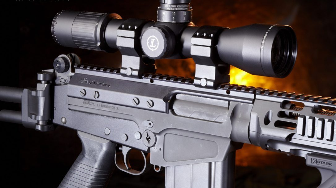 Sneak Peek-DS Arms SA58 Para with Leupold Scope