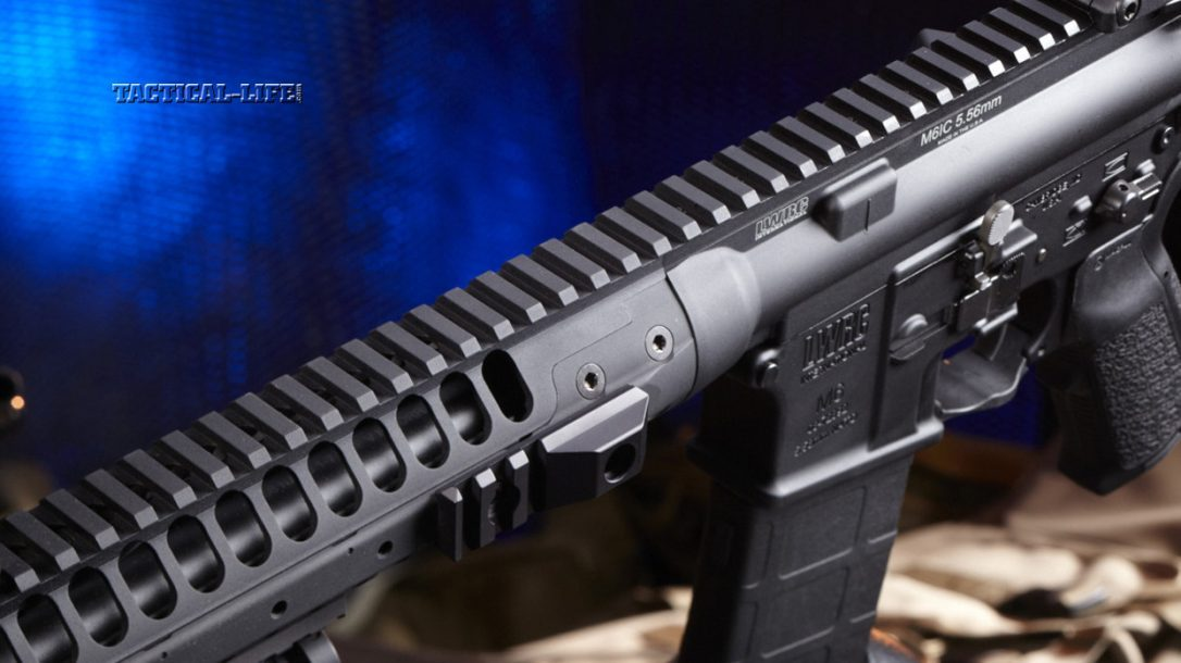 Sneak Peek - LWRCI M6 Individual Carbine top rail