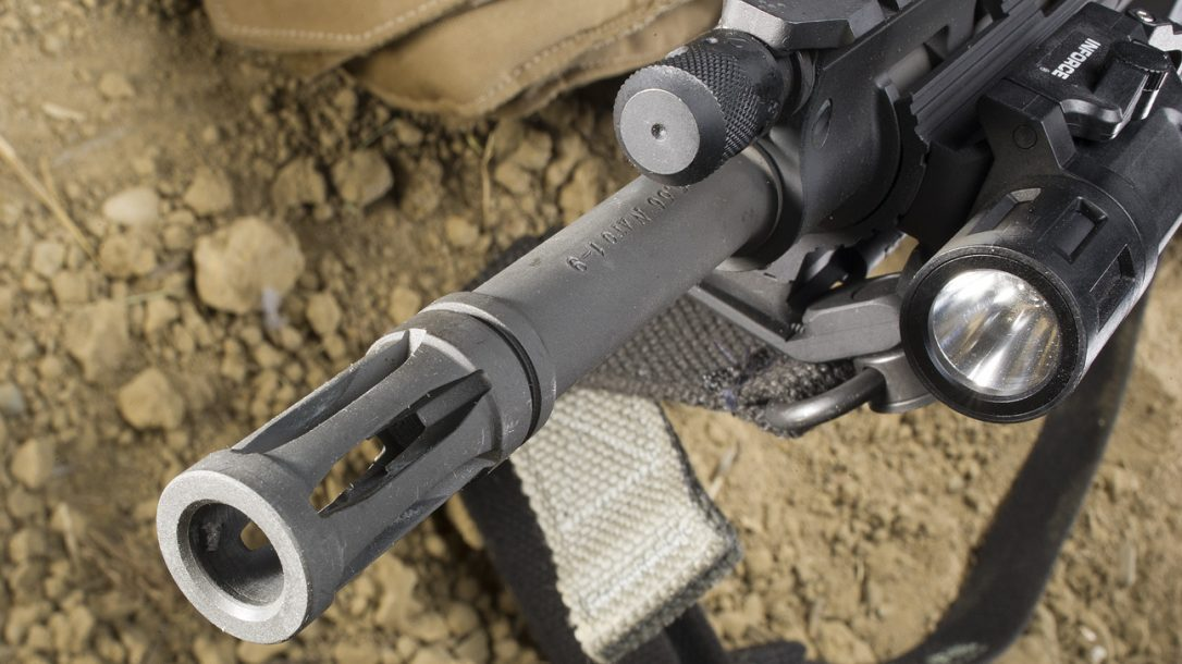 Sneak Peek- Ruger SR-556 Carbine Flash Hider