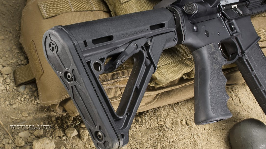 Sneak Peek- Ruger SR-556 Carbine Stock