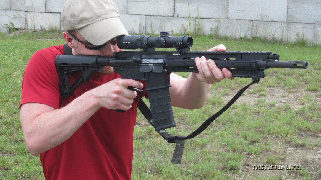 Sneak Peek- Ruger SR-556 Carbine in action