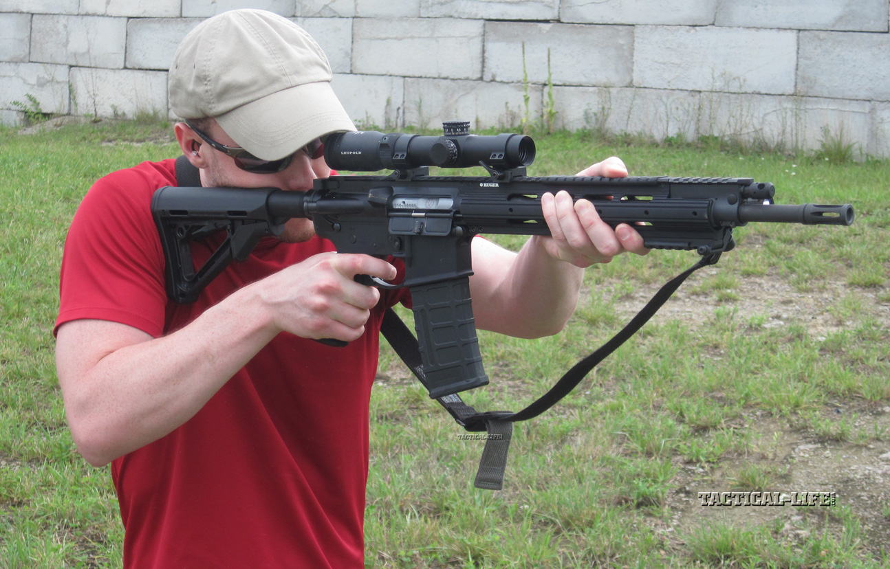 Ruger Sr 556 Carbine Rifle Review Preview