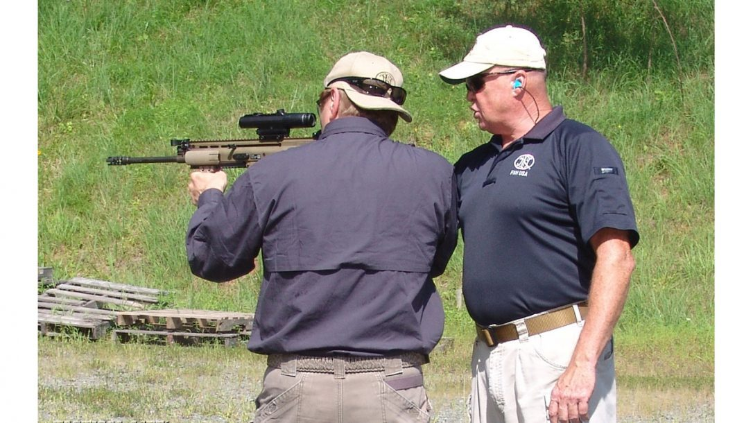 Tactical-Life Visits FNH USA - Bucky was an excellent instructor and soon had me shooting like a pro with the SCAR.