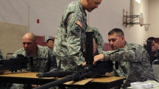 Troops Get Acquainted with M2 .50 Cal Quick-Change Barrel