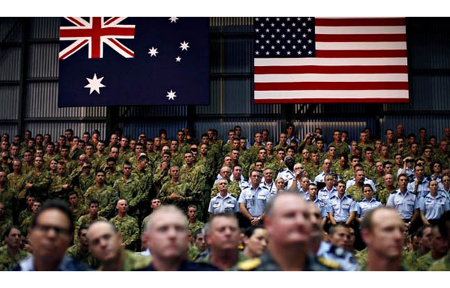 U.S. May Keep Training Materiel in Australia