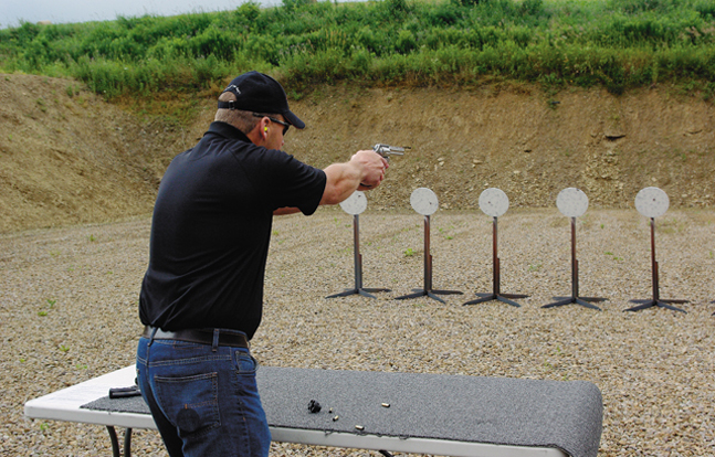 The Greenville Police Department in Alabama hosted the fifth annual steel target pistol shooting competition