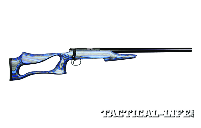 The most notable feature of the CZ 455 Varmint Evolution is its Boyds' thumbhole stock, which is designed for precise, consistent shooting.